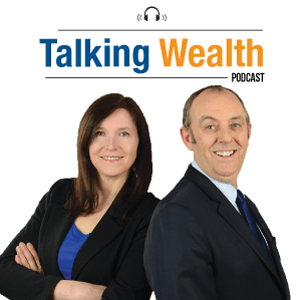 Itunes 'Talking Wealth' podcast image