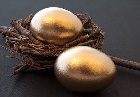 Eggs in a basket - investing your surplus wisely